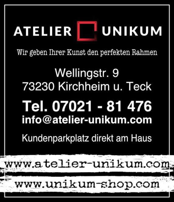 Bilderrahmen, Einrahmungen, Rahmenkunst Unikum, Kirchheim Teck, Kreis Esslingen, Stuttgart, Göppingen, Metzingen, Reutlingen.