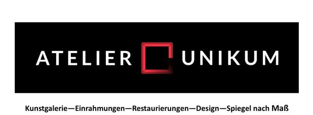 Kunsthandlung, Vergolden, Einrahmungen, Galerie Unikum, Kirchheim Teck