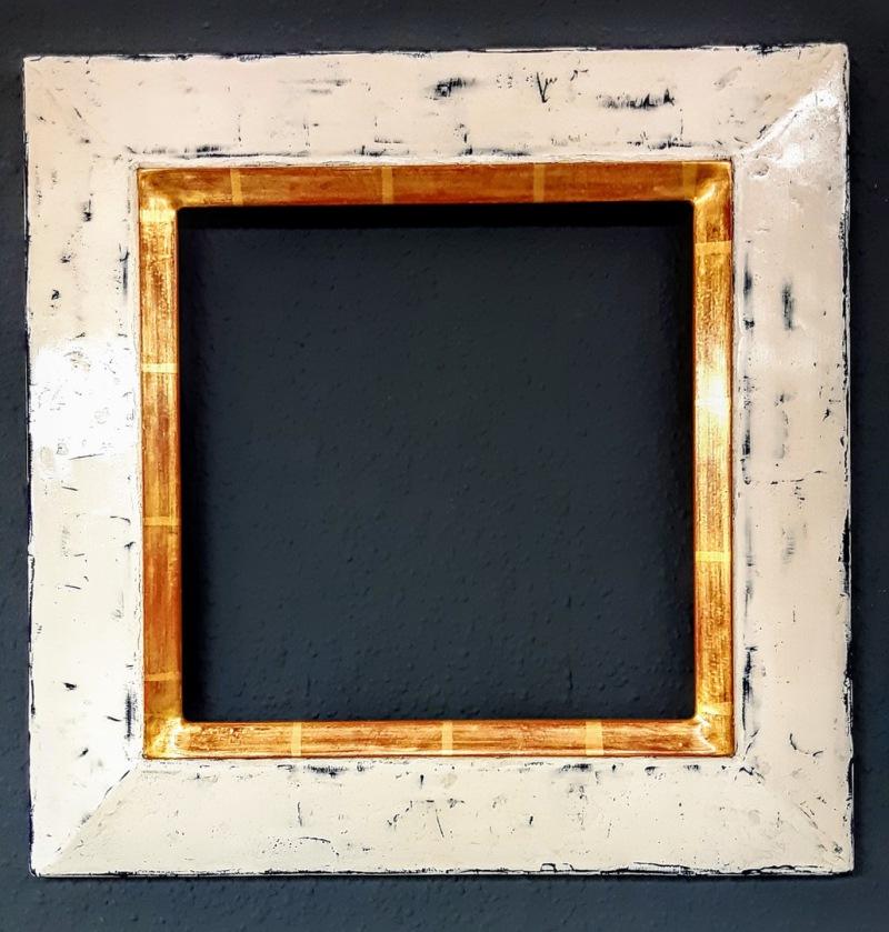 Wandspiegel nach Maß, Handarbeit, Echtgold