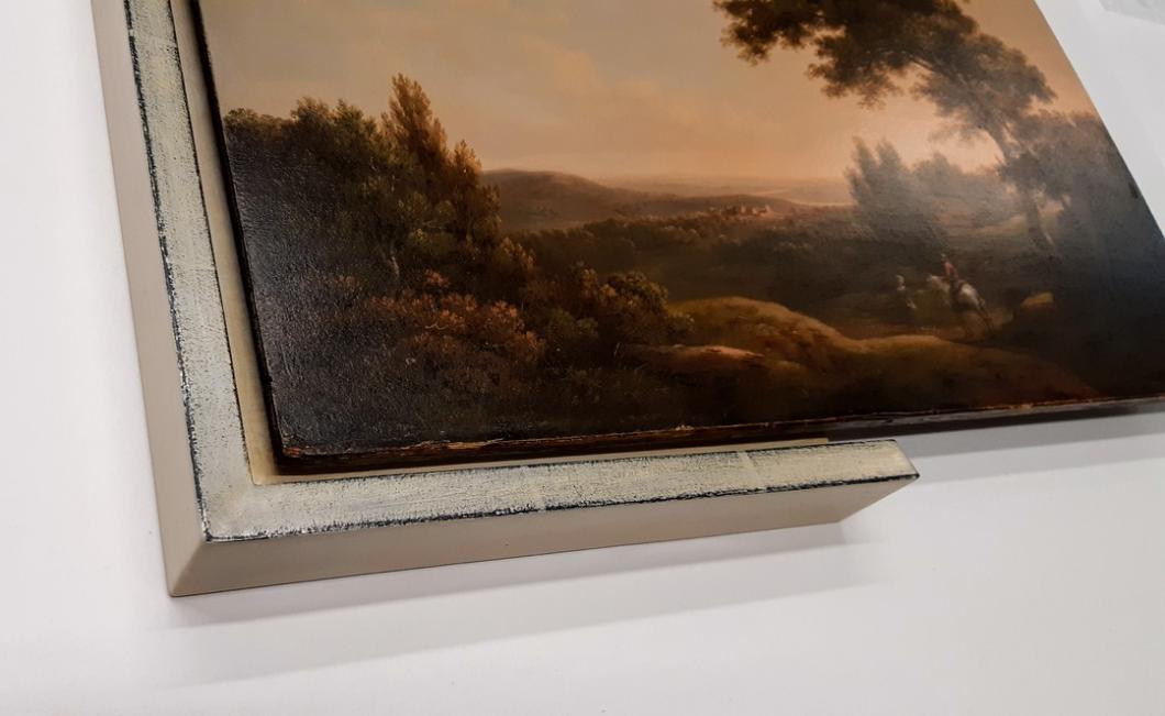 Schattenfugenrahmen exklusiv für Gemälde