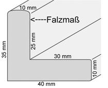Schattenfugenrahmen Standardformate, Rahmenkunst Unikum, Kirchheim Teck