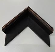 Schattenfugen Rahmen, Schwarz