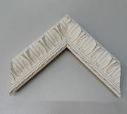 Barock, Rahmen, Weiß, Vintage