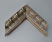 Barock, Rahmen, Vintage, Silber
