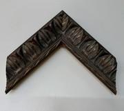 Barock, Rahmen, Vintage, Schwarz