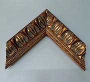 Barock, Rahmen, Vintage, Gold