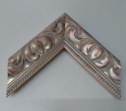 Barock, Rahmen, Vintage mit Silber