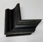 Vintage Rahmen Breit, Schwarz