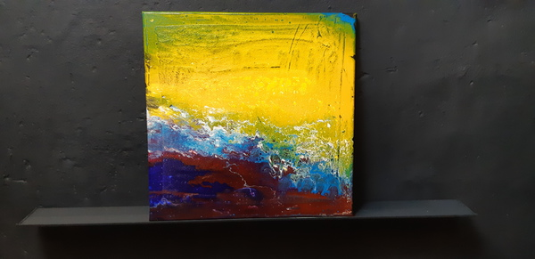 Acryl Pouring, Fluid Painting