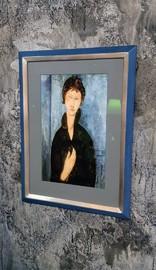 Modigliani, Poster, Rahmen, Einrahmung