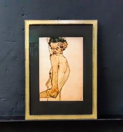 Egon Schiele, Poster Einrahmen, Wandbild