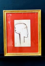 Amedeo Modigliani Poster mit Rahmen