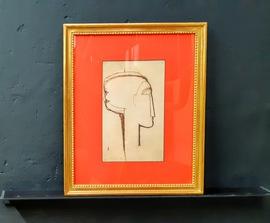 Amedeo Modigliani, Kunstdruck mit Rahmen kaufen