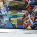 Leinwandbilder auf Keilrahmen spannen und professionell einrahmen im Rahmenkunst Atelier Unikum, Kirchheim Teck, Kreis Esslingen bei Stuttgar