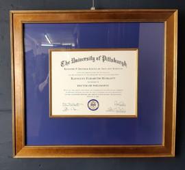 Diplom, Zertifikat, Einrahmen