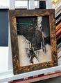 Rost Rahmen, Acrylgemälde